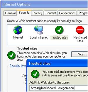 Garrett College: BB Support: Browser Setup and Plugin Information